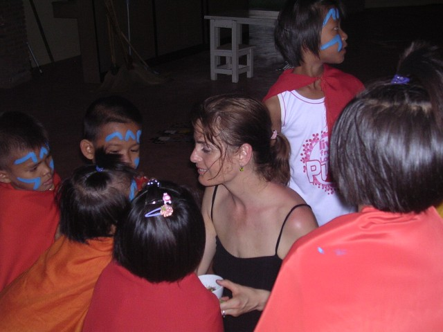 Theaterworkshop in Thailand