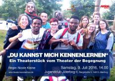Plakat Theaterprojekt